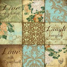 Jean Plout Featured Images - Boho Patchwork-C  by Jean Plout