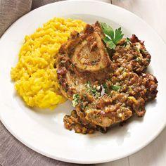 Scopri la ricetta presentata questa Settimana nel nostro sito... http://www.cucinaincasa.com/novita/ossibuchi-con-gremolata-allo-zenzero-brasati-in-ghisa-su-riso-allo-zafferano-e-prosecco/2016/6102 #villamontesiro #fratelli_villamontesdiro #villa_casalinghi #ul_piatè_de_munt #ricetta