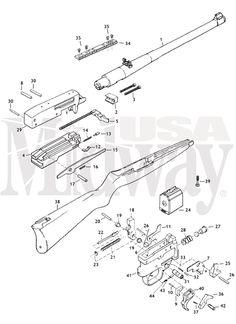 : Ruger 10/22 schematic ....