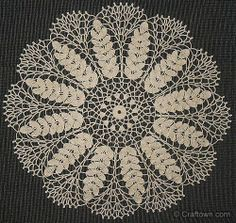Lace wheat doily, free crochet pattern.                      Make one for Mom to go with her Wedding China!!
