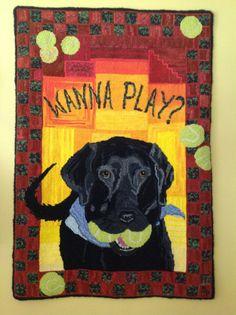 Suzi's dog Abbey via Tawney Collins Feay Black lab