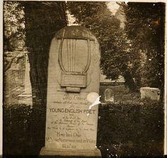 Grave of John Keats, Rome c. 1910