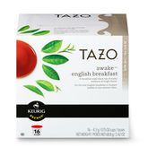Tazo® Awake™ English Breakfast K-Cup Packs. Get Special discounts at Starbucks using coupon and Promo Codes.