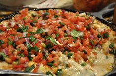 A creamy, cheesy dip loaded with crab, artichokes, and Asiago. Everything taste better with Pico De Gallo! NO BULL !! This is a delicious hot crab dish that looks amazing served in your cast Iron s...