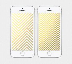 Shining Chevron iPhone 4 / iPhone 5 Wallpaper: $3.00 on Etsy