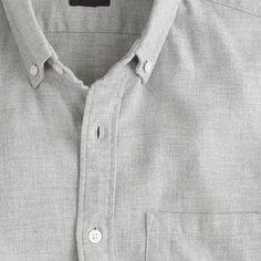 Soft heather twill shirt