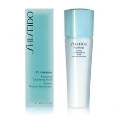 Shiseido - PURENESS foaming cleansing fluid 150 ml
