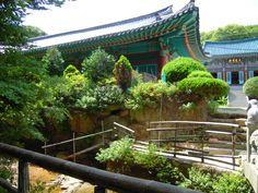 korean temple Busan
