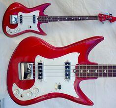 Guitar Blog: Teisco KB-2 vintage Japanese bass guitar from 1967