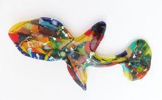 https://flic.kr/p/NPN18h | fish1b | glass fusion ca 30 cm