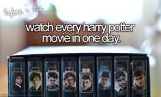 Watch All The Harry Potter Films In One Day <3