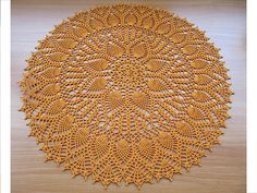 Double Pineapple Doily by American Thread Company by Nik_OC, via Flickr