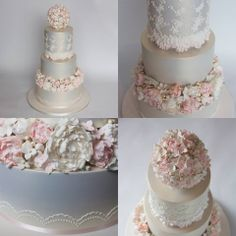 Wedding Cake by Yummies - Cakes & Special Treats, Sydney, New South Wales, Australia. You'll find this Cake Appreciation Society Member in our Directory at www.cakeappreciationsociety.com
