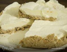 Сливочно-лимонный торт. Ингредиенты: сливки 33-35% , печенье бисквитное, лимоны