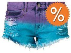 BamBam PAPER CUTS BAMBINO Jeans Shorts pacific auf shopstyle.de