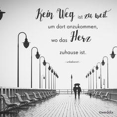 Was für ein schöner Spruch! Weitere romantische Sprüche und Zitate findet Ihr hier: https://www.weddix.de/ratgeber/hochzeitssprueche.html #zitate #sprüche #romantisch