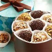 Brigadeiros Caramel Fudge Truffles