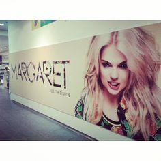 Płyta Margaret już dostępna :) Taka ściana czeka na Was w salonie Empik Junior na Marszałkowskiej :)