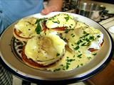 Tyler Florence is awesome anyways, but this hollandaise sauce . . .yum!