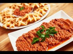 Scharfer Paprika Tomaten Dip mit Walnüssen / Acili Ezme Tarifi - YouTube