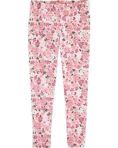 Floral Leggings, , hi-res Fleece Leggings, Best Leggings, Girls Leggings, Girls Pants, Leggings Are Not Pants, Floral Leggings, Colorful Leggings, Girls Summer Outfits, Girl Outfits