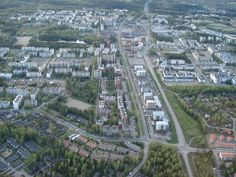 Hervanta, Tampere, Finland - home for thousands of students Finland, City Photo, Country, Students, Image, Historia, Rural Area, Country Music