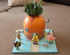 Торт Губка Боб. Sponge Bob cake