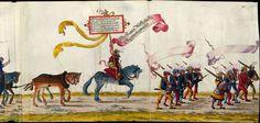 Landsknecht  - Artist: various, Title: »Triumphzug Kaiser Maximilians« Page 7, Date: 1526