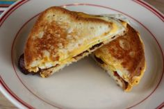 Bacon Egg and Cheese Grilled Cheese Sandwich [Recipes]