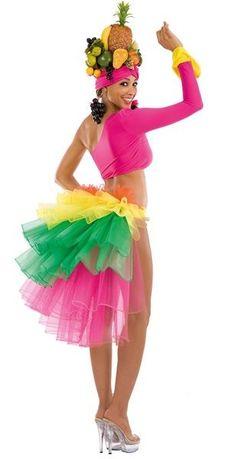 Déguisement brésilienne adulte femme Brazil Carnival, Carnival Themes, Diy Costumes, Dance Costumes, Halloween Costumes, Rio Party, Fancy Dress, Dress Up, Cuban Party