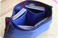 Big Fat Travel Portfolio {sewing tutorial} - Nap-time Creations
