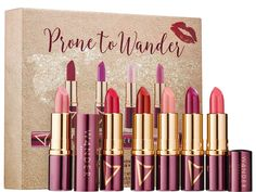 Wander Beauty Prone to Wander Lipstick Set for Holiday 2016