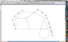 La Passacaglia Acrylic Templates - With 1/4 inch Seam Allowance (5 pieces) - NEW!
