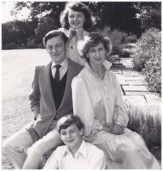 Princess Alexandra of Kent's family