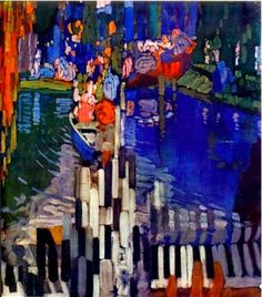 """""""Piano"""" - Frantisek Kupka - pintor checo (1871-1957)"""