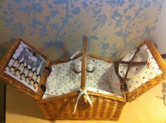 Finished !! Picnic, It Is Finished, Basket, Homemade, Diy, Bricolage, Picnics, Baskets, Home Made