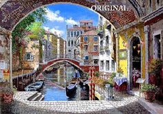 Venice Archway... Counted Cross Stitch by BeadedBirdXStitch