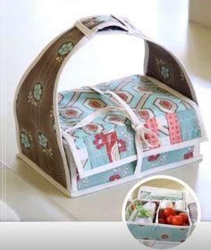 Sew A Bento Box {Free Pattern}