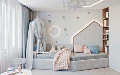 Room Design Bedroom, Home Bedroom, Kids Bedroom, Bedroom Decor, Minimalist House Design, Minimalist Home, Toddler Rooms, Toddler Bed, Babies Rooms
