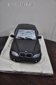 Car Cakes For Boys, Cakes For Men, Bmw Torte, Cars Cake Design, Bmw Cake, Jake Cake, Planet Cake, Birthday Cake For Him, Bmw Autos