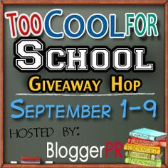 Too Cool for School Giveaway Hop! on http://www.spendwithpennies.com/too-cool-for-school-giveaway-hop/