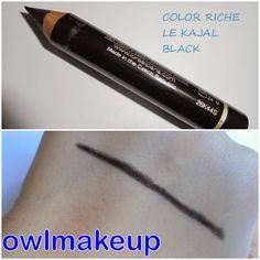 Color Riche Le Kajal Black.