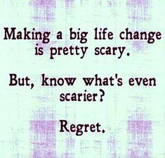 Life change quote