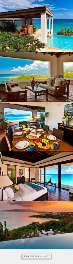 Villa Zenaida- Sandy Hill, Anguilla- WIMCO Villas 7 bed 7 baths #travel #caribbean #vacation #anguilla #villarentals