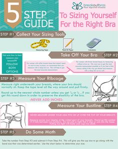 192a0d2a35605 Breakout Bras Fitting Guide - How To Measure. Correct Bra SizingBra ...