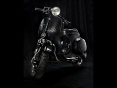 RocketGarage Cafe Racer: Black Venon