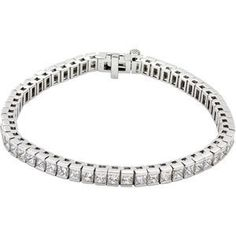 18K White 18K White Diamond Tennis Bracelet GoldenMine. $18472.00. Manufactured using up-to-date manufacturing techniques ensuring the highest quality and value. This jewelry is symbolic in nature and can be the perfect gift for any and all occasions. Completely redesigned and revamped for the year 2012. This item features a high polish finish for Excellent sparkle and pop. Promptly Packaged with Free Shipping and Free Gift Box... Perfect for Gift Giving. Save 71%!