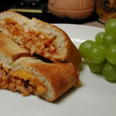 BBQ Chicken Cheddar Bacon Stromboli recipe... delicious and easy.. perfect for a weekend lunch or supper