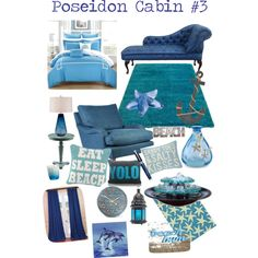 Poseidon Cabin #3 by farm-girl54 on Polyvore featuring interior, interiors, interior design, home, home decor, interior decorating, Possini Euro Design, Chic Home, Surya and Alexandra Ferguson