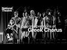 Modernizing the greek chorus - M.Rice